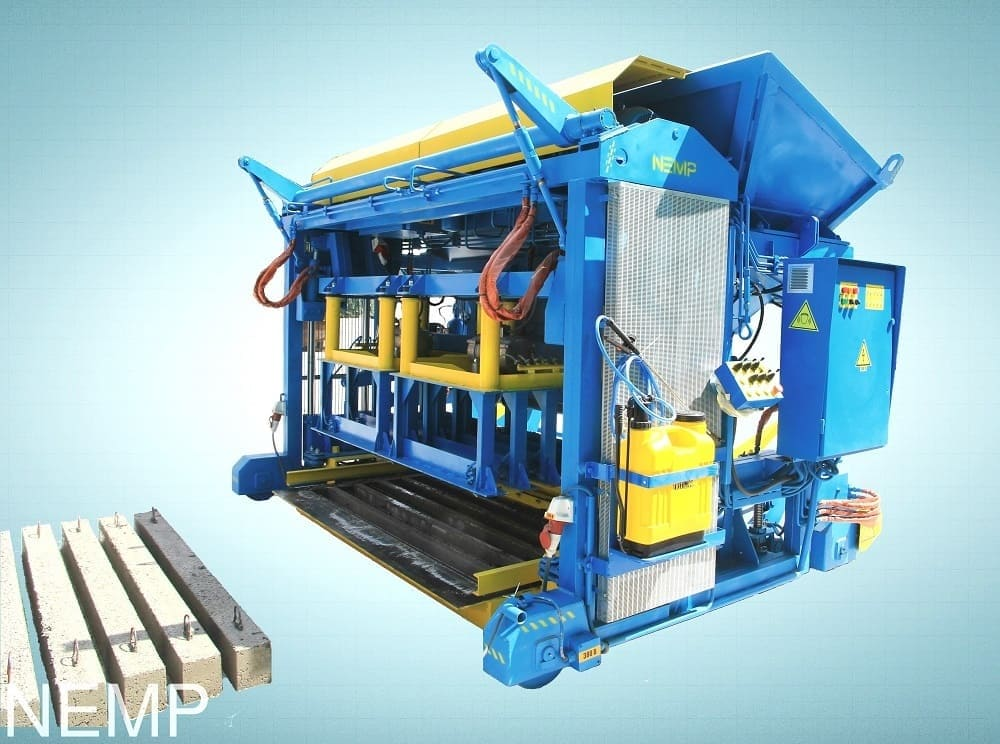 Concrete lintel making machine UPB-PB for the production of precast lintels
