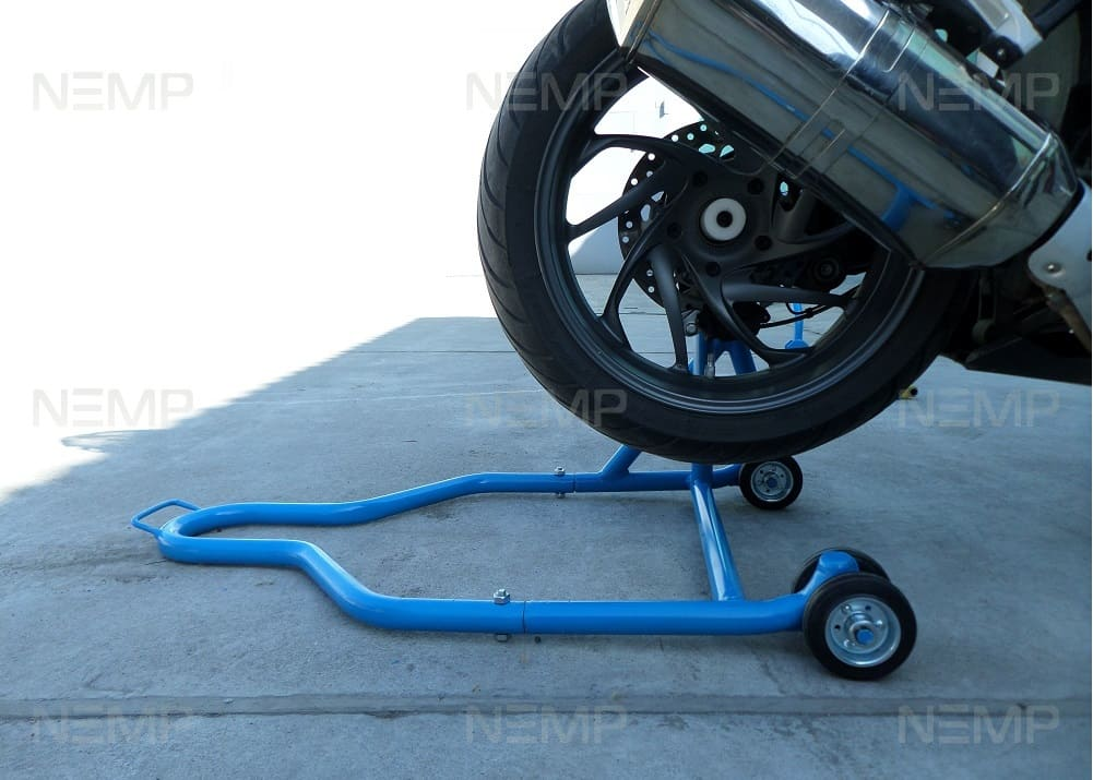 Motorcycle stand for Single-Sided Swingarms